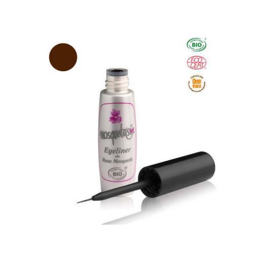 Eyeliner Bio Brun à l'huile de rose musquée du Chili 5ml