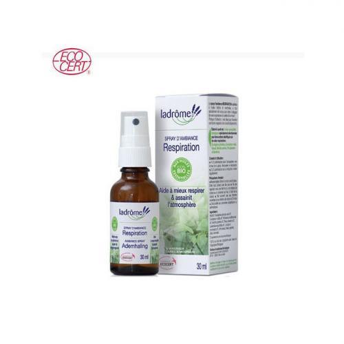 Spray d'ambiance Respiration aux huiles essentielles bio 30ml