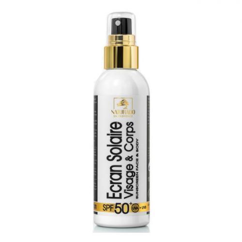 Crème solaire bio Indice 50  Très haute Protection Visage 50ml