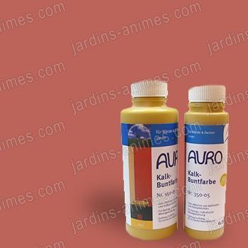 Colorant naturel Terre Cuite à la chaux 0.5L Auro 350-35