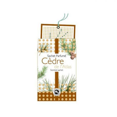 Sachet parfumé Cèdre de l'Atlas