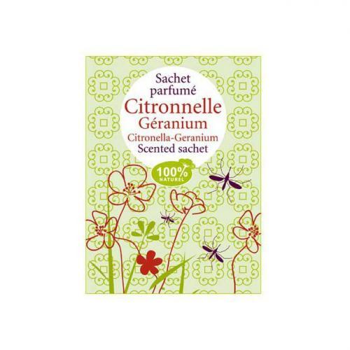 Sachet parfumé Citronnelle Géranium
