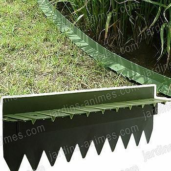Bordurette pelouse flexible rebord 6x50cm
