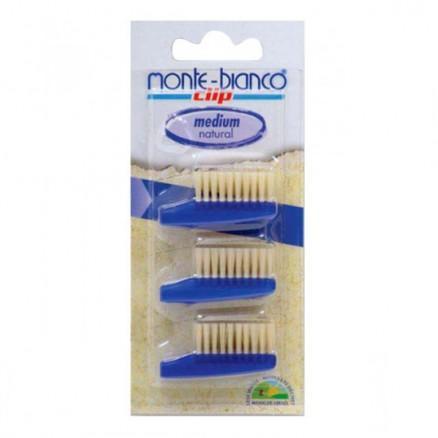 Recharge brosse à dents nature medium