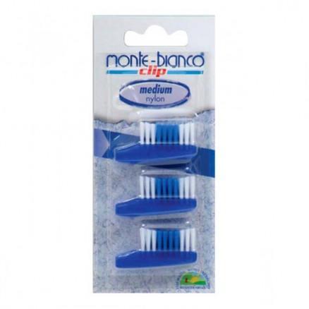 Recharge brosse à dents nylon medium