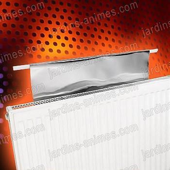 Film reflechissant chaleur pour 6 radiateurs