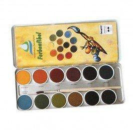 Aquarelle 12 couleurs végétales