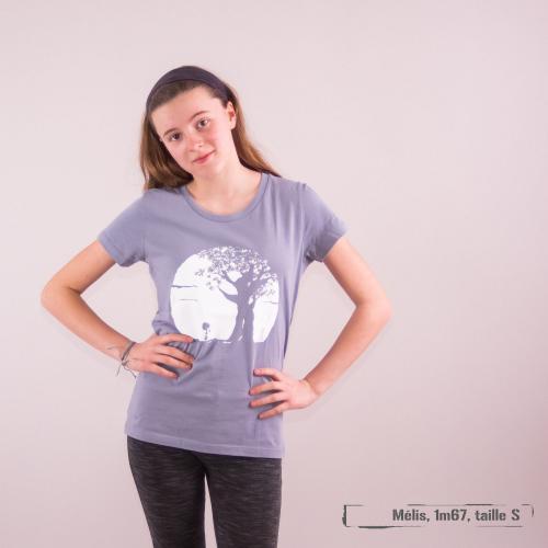 """T-shirt coton bio éthique MANAGUA """"Pousse"""""""