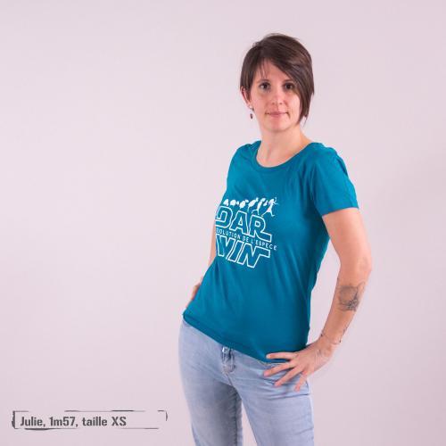 "T-shirt coton bio éthique MANAGUA ""Dar Win"""