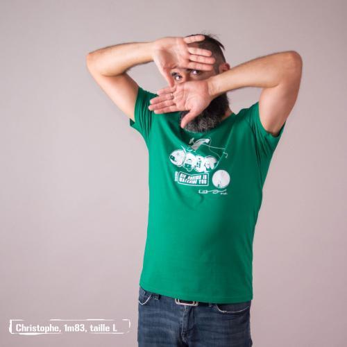 """T-shirt bio équitable DOUALA """"Big Brother"""""""