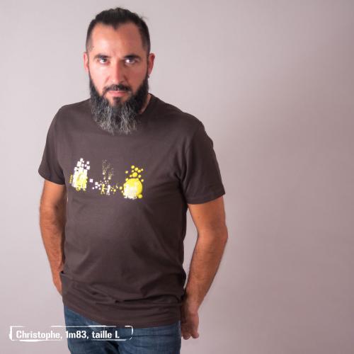 """T-shirt bio équitable DOUALA """"Premiers pas"""""""