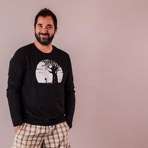 """T shirt coton bio équitable DAKAR """"Pousse"""""""