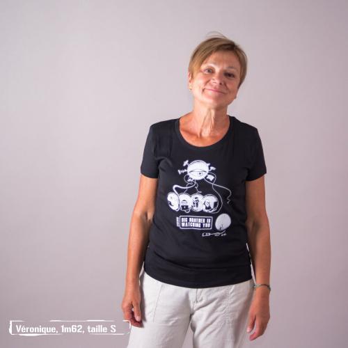 """T-shirt coton bio éthique MANAGUA """"Big Brother"""""""
