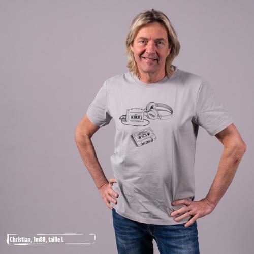"""T-shirt bio équitable DOUALA """"Archives"""""""