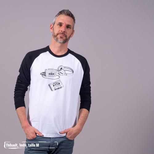 """T shirt coton bio équitable DELHI """"Archives"""""""