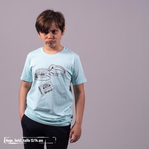 """T shirt coton bio équitable MANAUS """"Archives"""""""