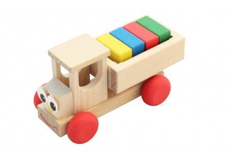Petit camion de construction