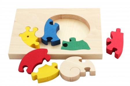 Puzzle encadré Escargot