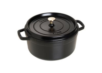 Cocotte ronde STAUB diam 26 cm noir