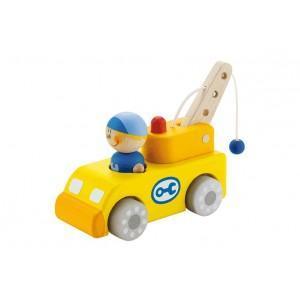 Camion sevi 1831 dépanneuse parking  - jouets en bois