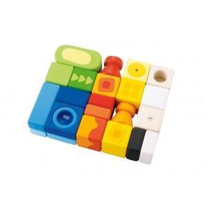 Set cubes savane sévi - jouets en bois 2