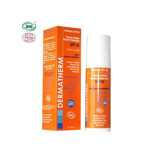 PurSun Crème solaire bio SPF 30 Visage - Corps 150ml