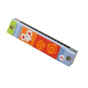 Instrument de musique harmonica sévi - jouets en bois
