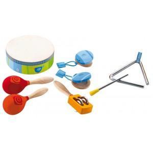 Set instrument de musique à percussions sevi 1831 - jouets en bois