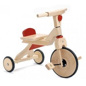 Tricycle Jasper Toys Rouge - Jouets en bois