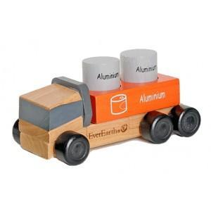 Camion eco-recycler everearth - jouets bois