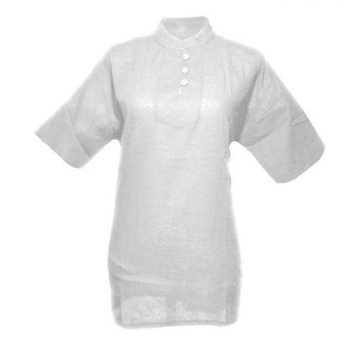 tunique de massage thaï blanche ( M )