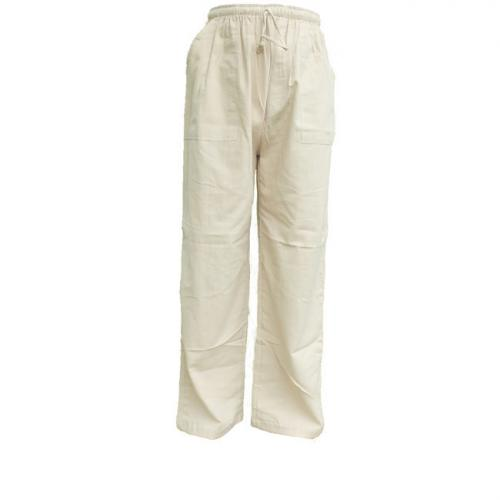 pantalon de massage thaï blanc