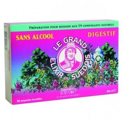 Elixir du Suedois Sans alcool