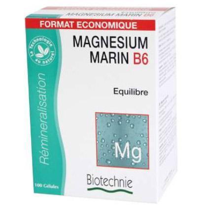 Magnésium marin B6 Format économique