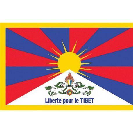 Sticker Drapeau tibétain