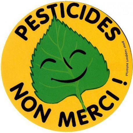 Sticker Pesticides Non Merci (grande taille)