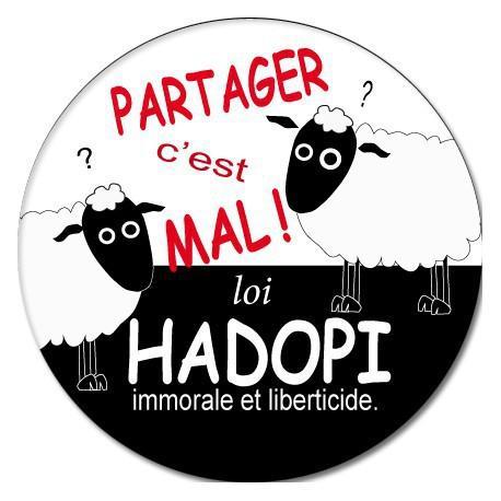 Badge Anti Hadopi