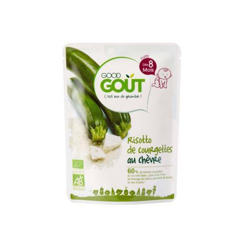 Good Gout Risotto Courgettes au chèvre