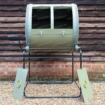 Composteur à tambour compartiment DOUBLE - 650litres
