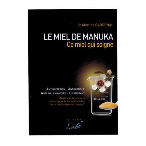 Livre  Le Miel de Manuka  du Dr Gardenal
