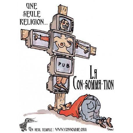 Sticker 'Une seule Religion'