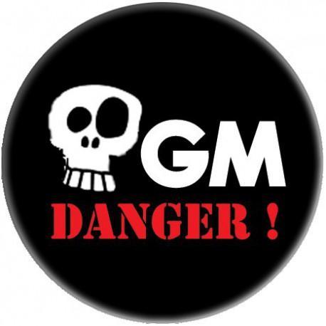Badge OGM Danger