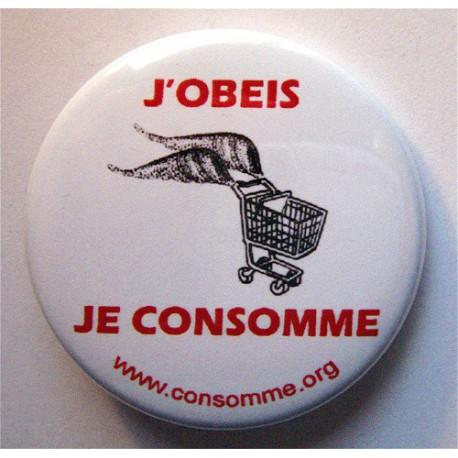 Badge Obéis Consomme