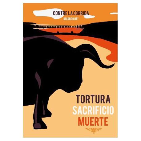 Sticker contre la Corrida