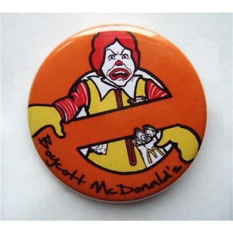 Badge Boycott Mac Do