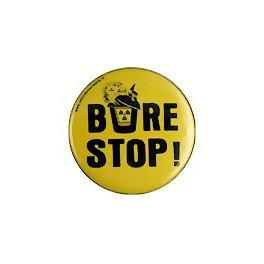Badge bure stop