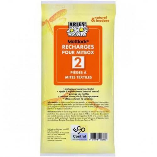 Recharge piège à mites Mitbox textile - Aries