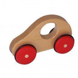 La voiture en bois  poignée