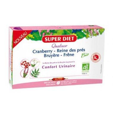 Quatuor Confort Urinaire - Super Diet