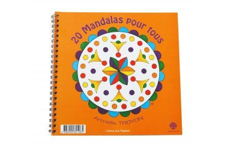 20 Mandalas pour tous Coloriage